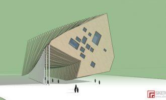 SketchUp巧合中的建筑