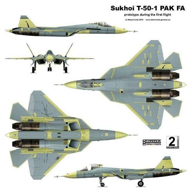 SketchUp草图大师创建T50(SU57)战机