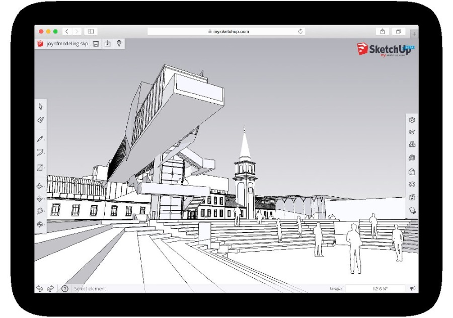 SketchUp建模必看的优化操作技术