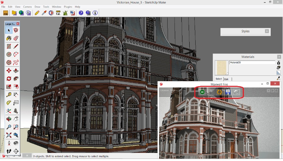 SketchUp的最佳渲染软件