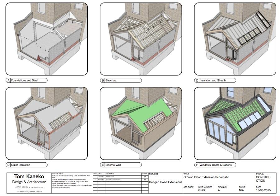 Tom Kaneko设计与建筑:SketchUp设计/建造实践