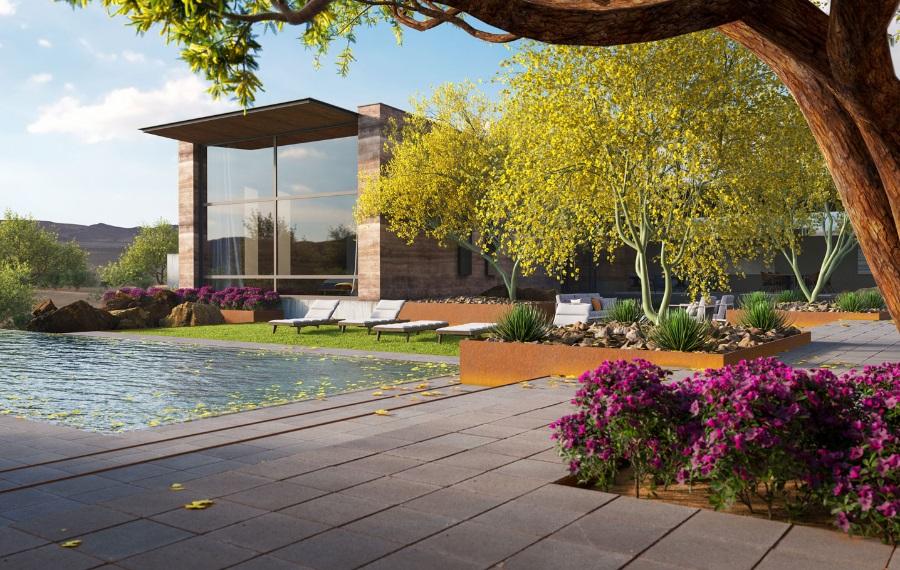 Design8 bv的新功能:Laubwerk 3D树木和植物