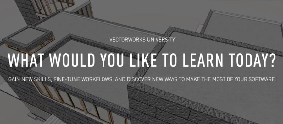 向Vectorworks大学学习