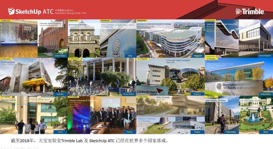 SketchUp ATC(中国)官方讲师培训