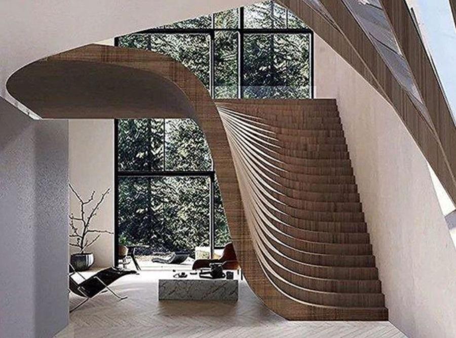 SketchUp草图大师创建室内创建楼梯