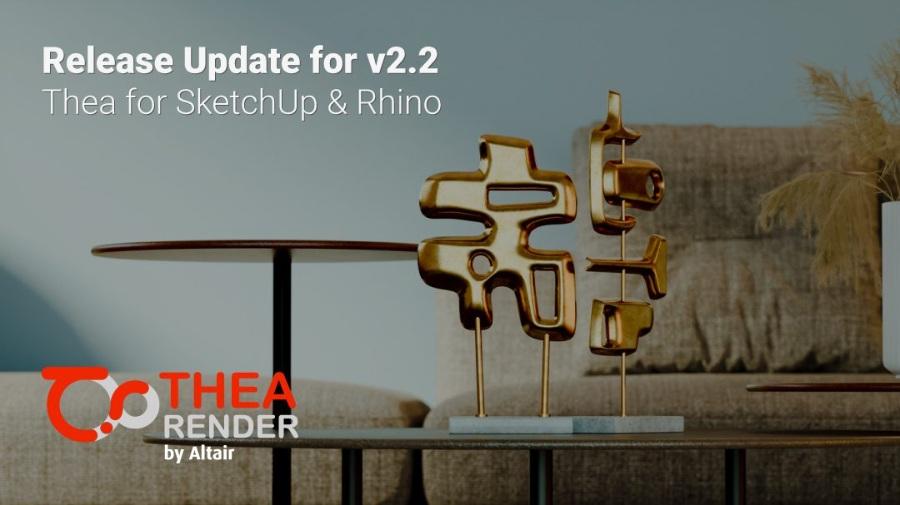 修订版TheaRender西娅 2.2.1015 支持 SketchUp 2021!