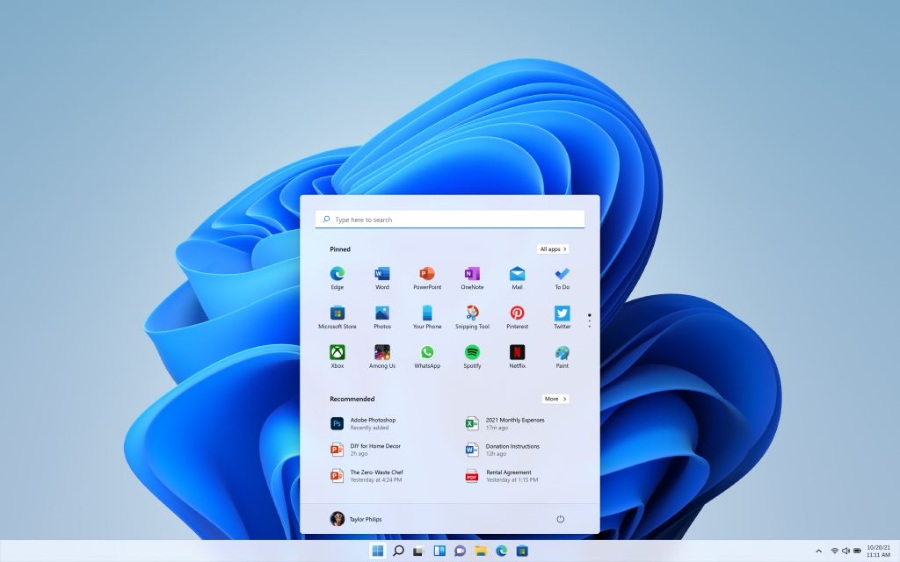 Windows11.0发布