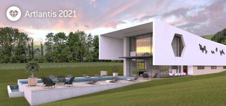 免费网络研讨会:Artlantis亚特兰蒂斯 2021 for ArchiCAD2021年